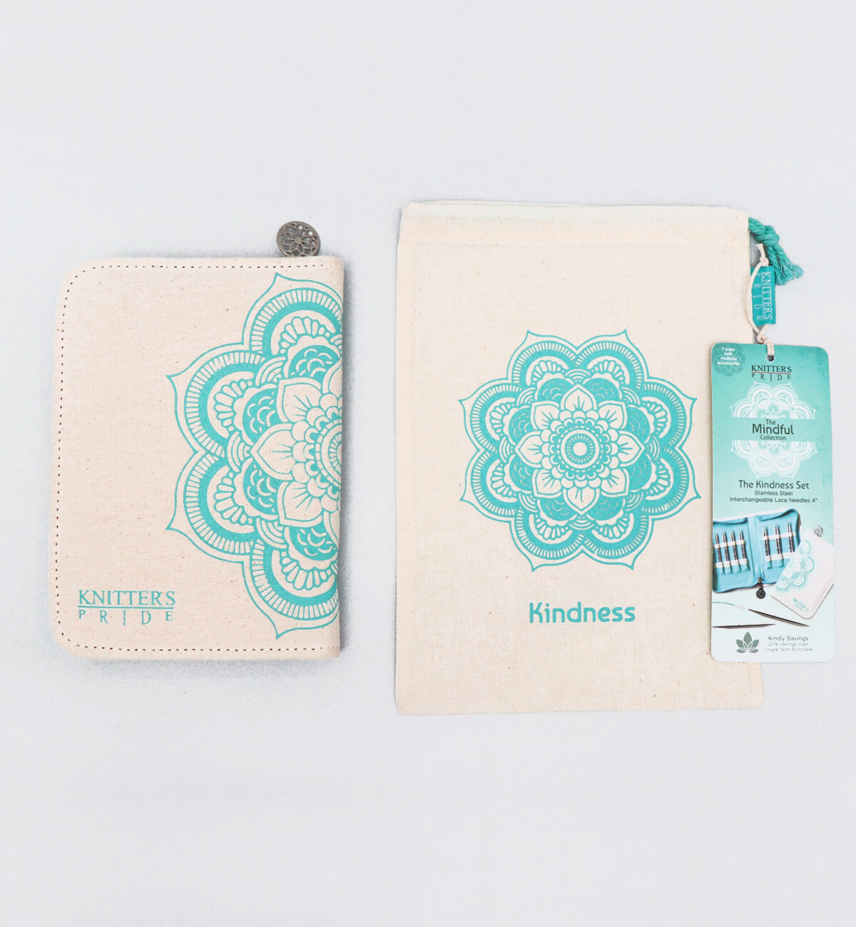 The Mindful Collection Needle Set, Kindness Set